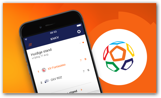 Pasfoto voor digitale spelerspas in KNKV app