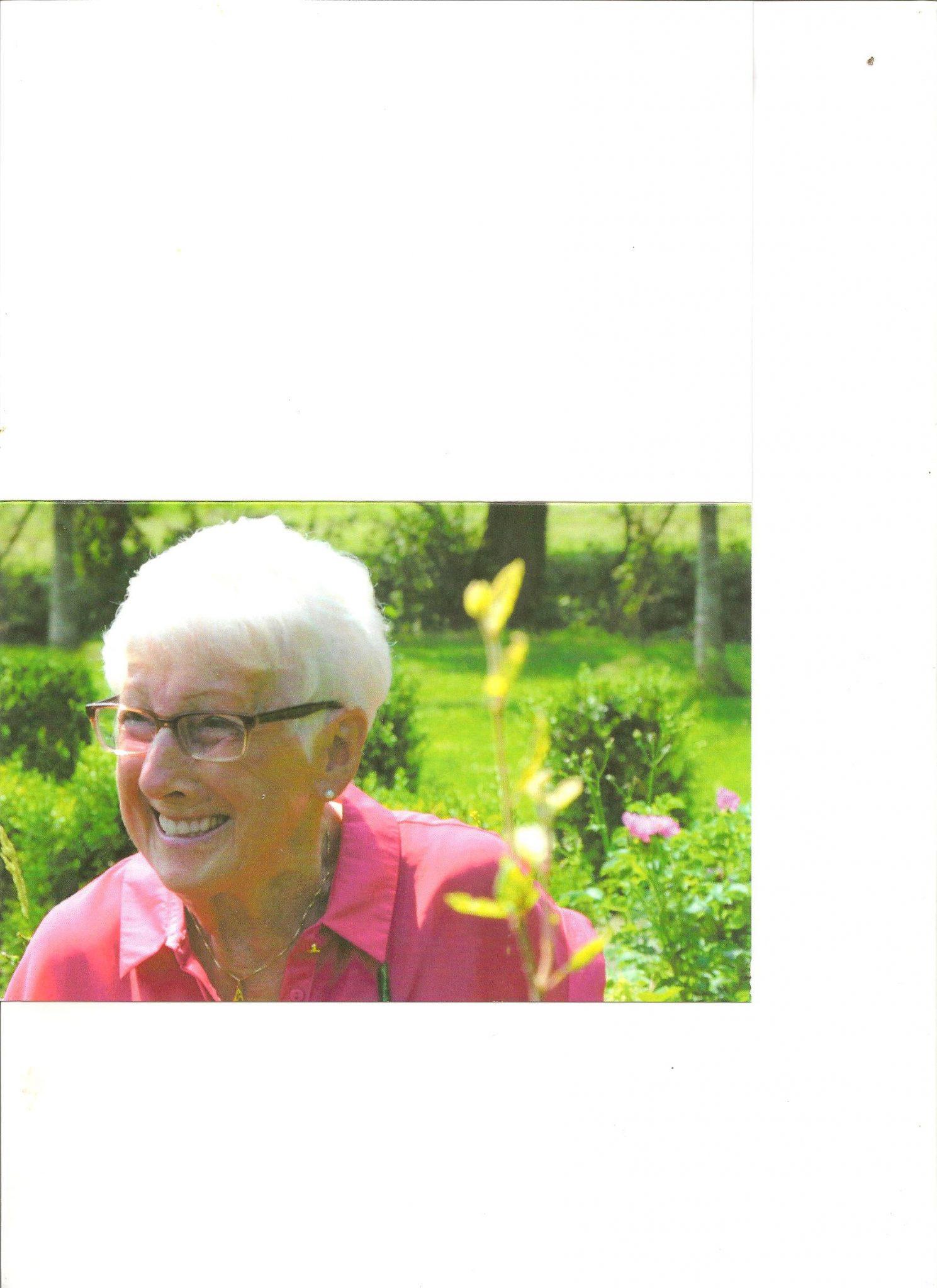 In Memoriam: Annie de Graaf